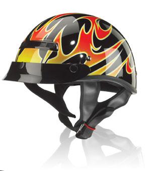 Helmet-Alto Flames
