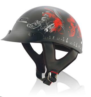 Helmet-Alto Tribal Skull