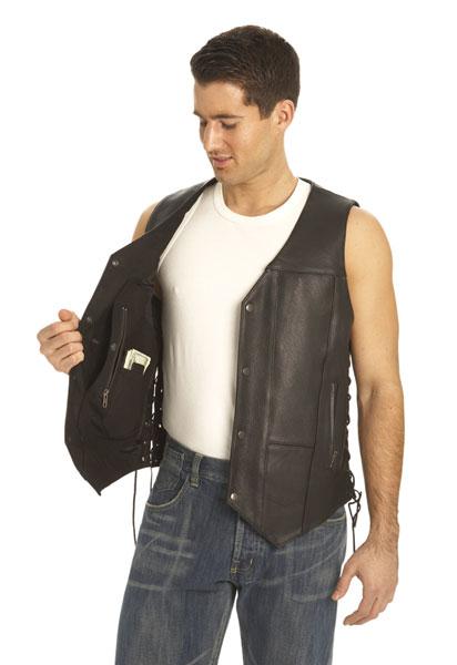 Vest 10 Pocket Black