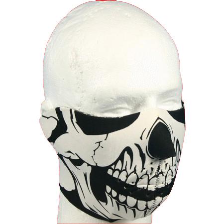 Face Mask-Half - Skull